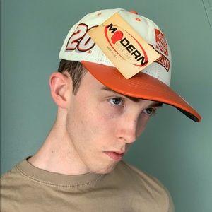 Tony Stewart #20 NASCAR, Home Depot Leather Hat
